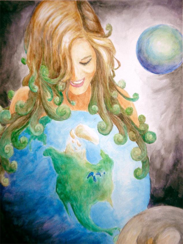 Uranus Greek Mythology Mother Earth Picture, ...