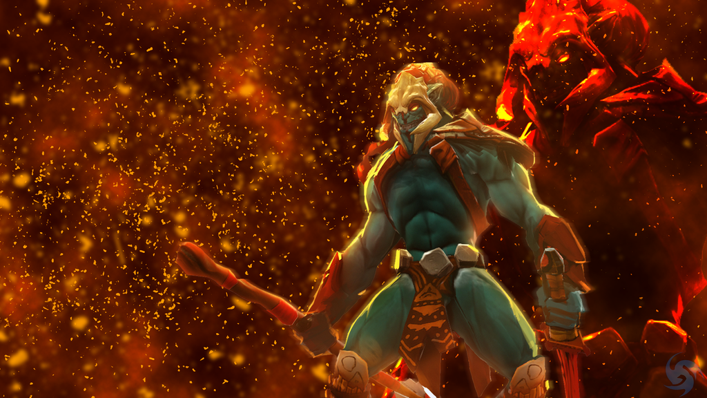 dota 2 huskar wallpaper by teska77 on deviantart