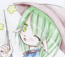 Witch by ashita-no-tsuyu