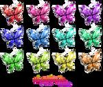 Crystal Butterflies render [Nardack]