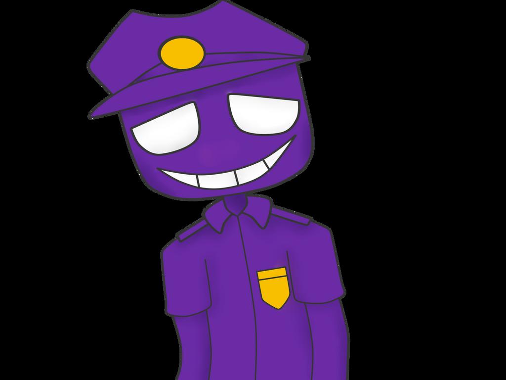 Purple Guy Vincent By Fnaf-fanny On DeviantArt