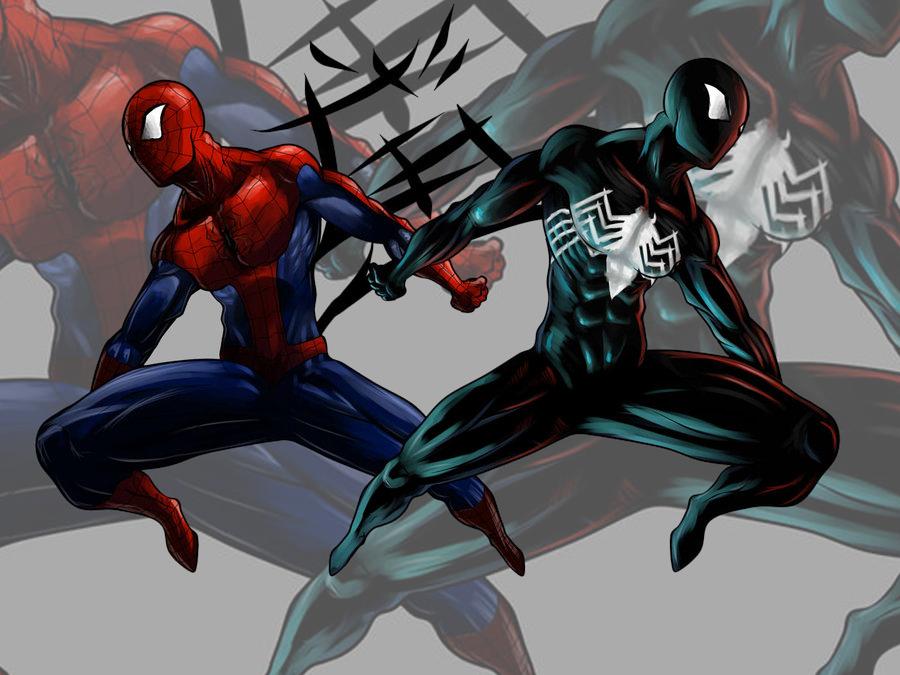 Spider man (oldie) by Gjergji-zhuka