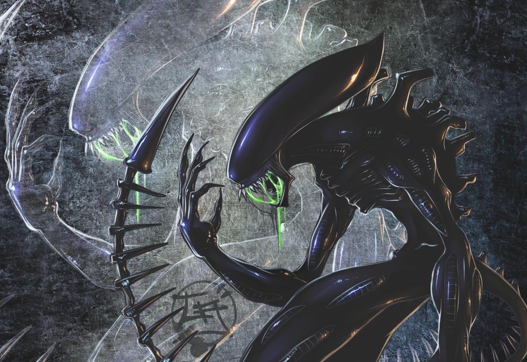 Xenomorph Alien by Gjergji-zhuka