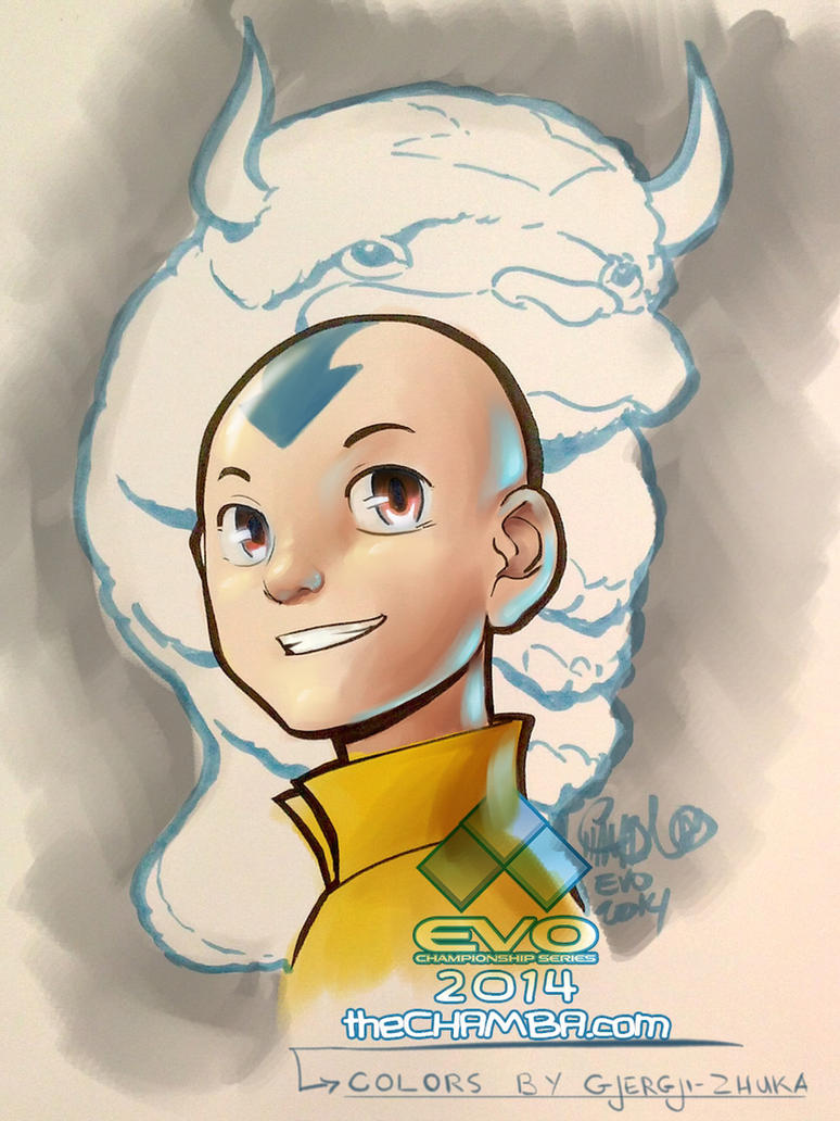 Aang, the last airbender no more by Gjergji-zhuka