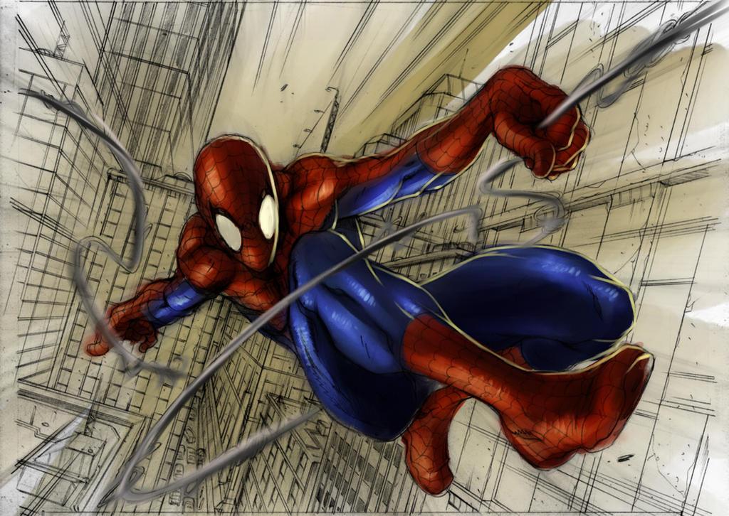 Spiderman (Alvin Lee) by Gjergji-zhuka