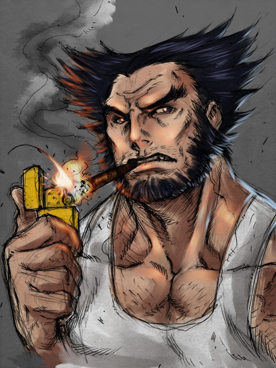 Wolverine  (Alvin Lee) by Gjergji-zhuka