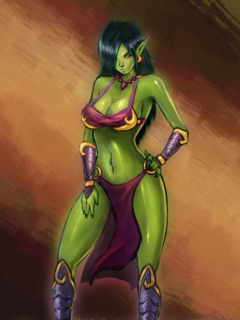 Female goblin nude comics