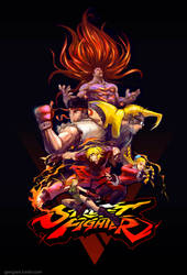 Street Fighter V by Gjergji-zhuka