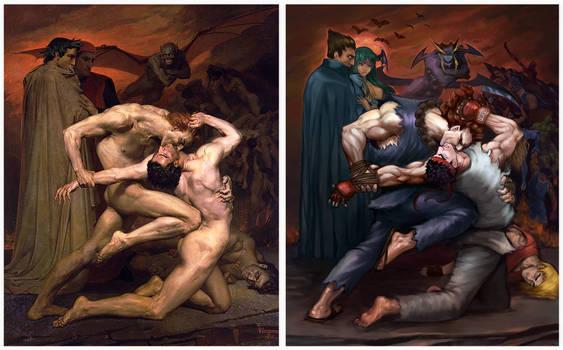 Street fighter and Darkstalkers