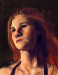 Portrait Practice - Jodi