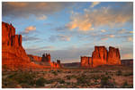 First Light in Arches