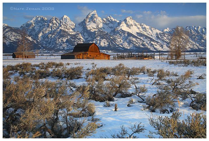 Spring Thaw - Mormon Row by Nate-Zeman