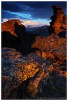 Alpine Sunset by Nate-Zeman