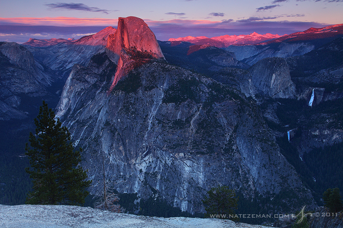 Glacier Point Sunset by Nate-Zeman