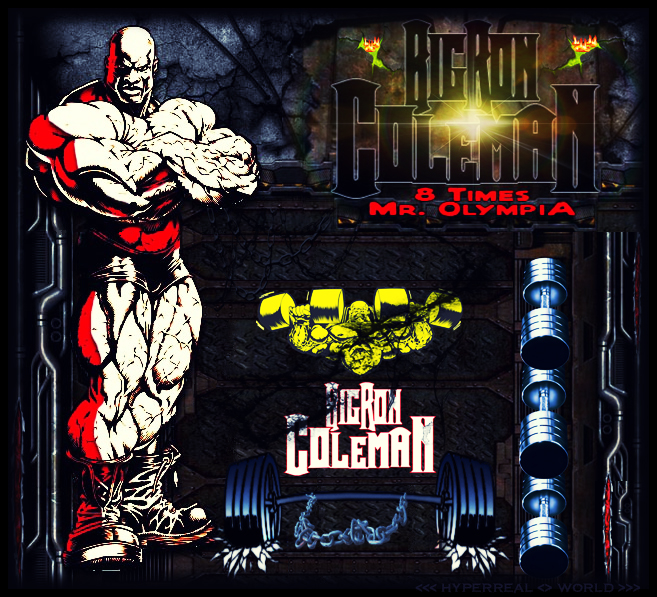 Big Ron Coleman by SHWZ