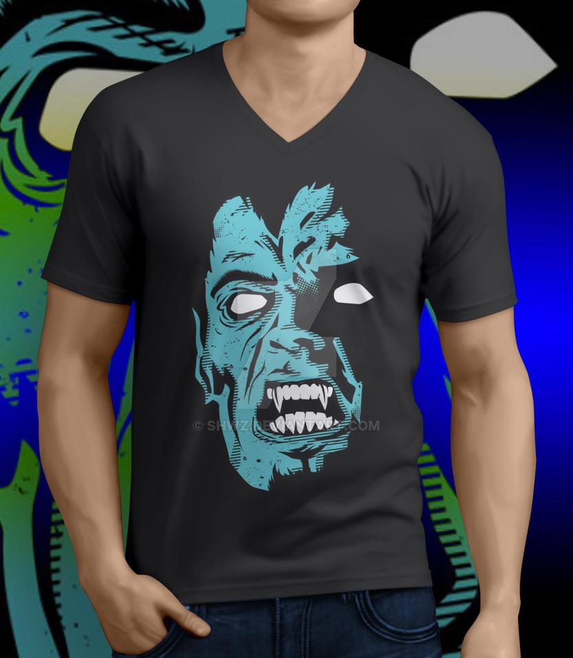 Vampire-T-Shirt by SHWZ