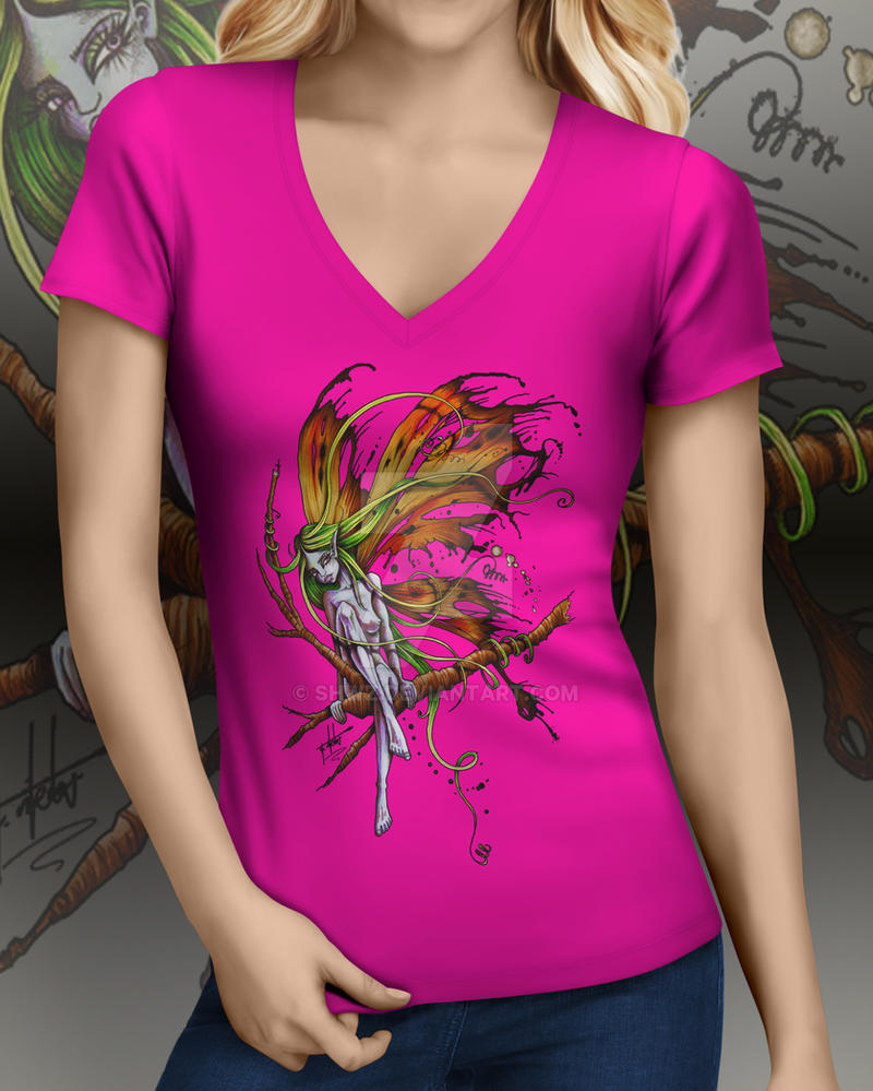 Faery Hunter T-shirt by SHWZ