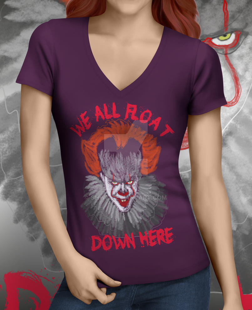 IT DOWN HERE 2 T-shirt by SHWZ