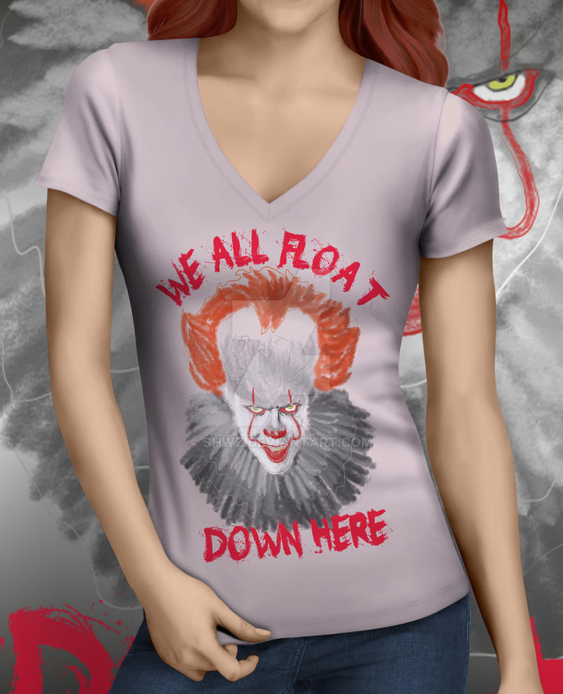 IT DOWN HERE 3 T-shirt by SHWZ