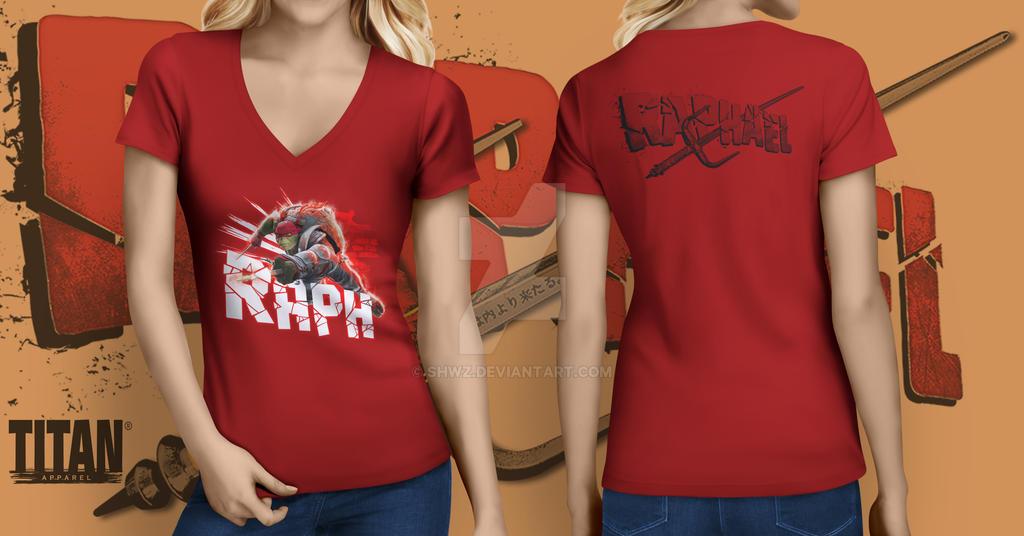Raphael T-shirt by SHWZ