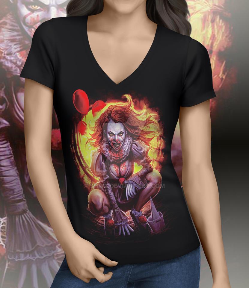 Penny Woman T-shirt by SHWZ