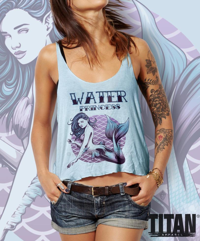 Water Princess Tank-Top by SHWZ