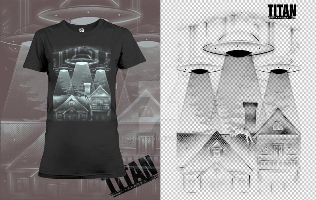uFo T-shirt by SHWZ