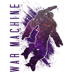 War Machine Colored Logo (ST) png by SHWZ