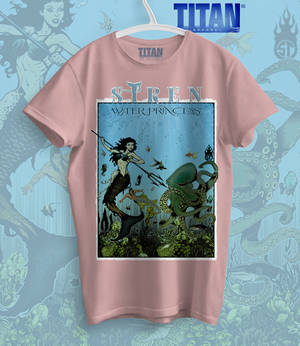 Siren Water Princess v2 T-Shirt 1