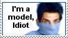 I'm a Model, Idiot Zoolander Stamp by Tris-Marie