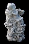 Angel Statue PRECUT PNG Stock