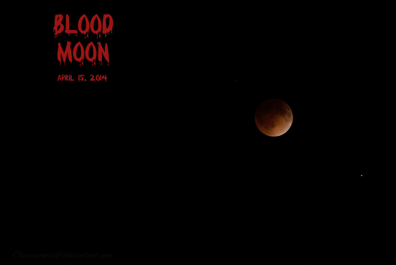 Blood Moon Wallpaper by Tris-Marie