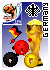FIFA Sticker - Germany by origamidragon
