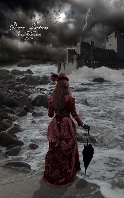 Ocean Fortress by StarfireArizona