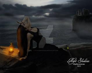 Night Shadows by StarfireArizona