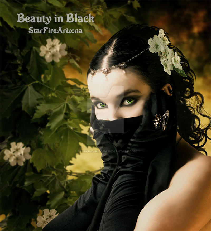 Beauty in Black by StarfireArizona