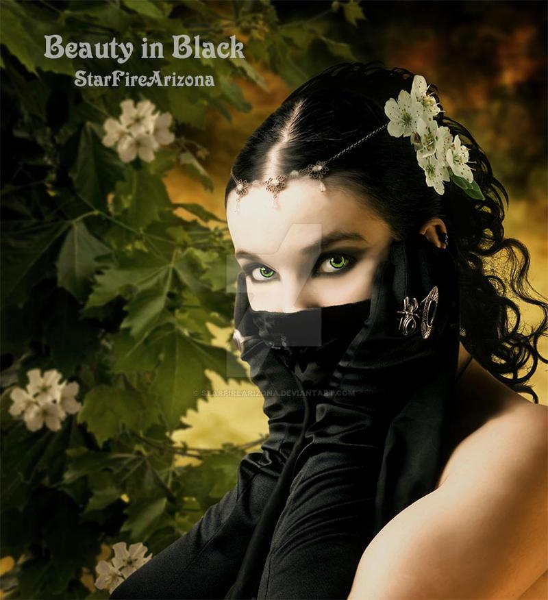 Beauty in Black by StarfireArizona