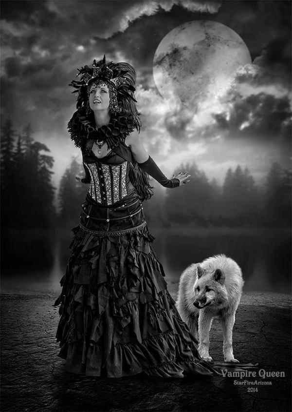 Vampire Queen by StarfireArizona