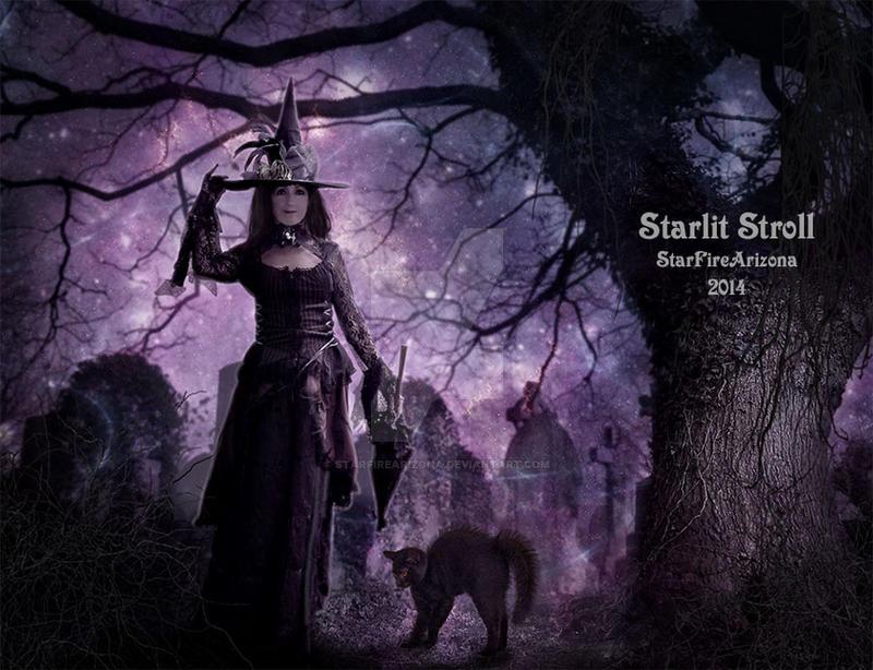 Starlit Stroll by StarfireArizona