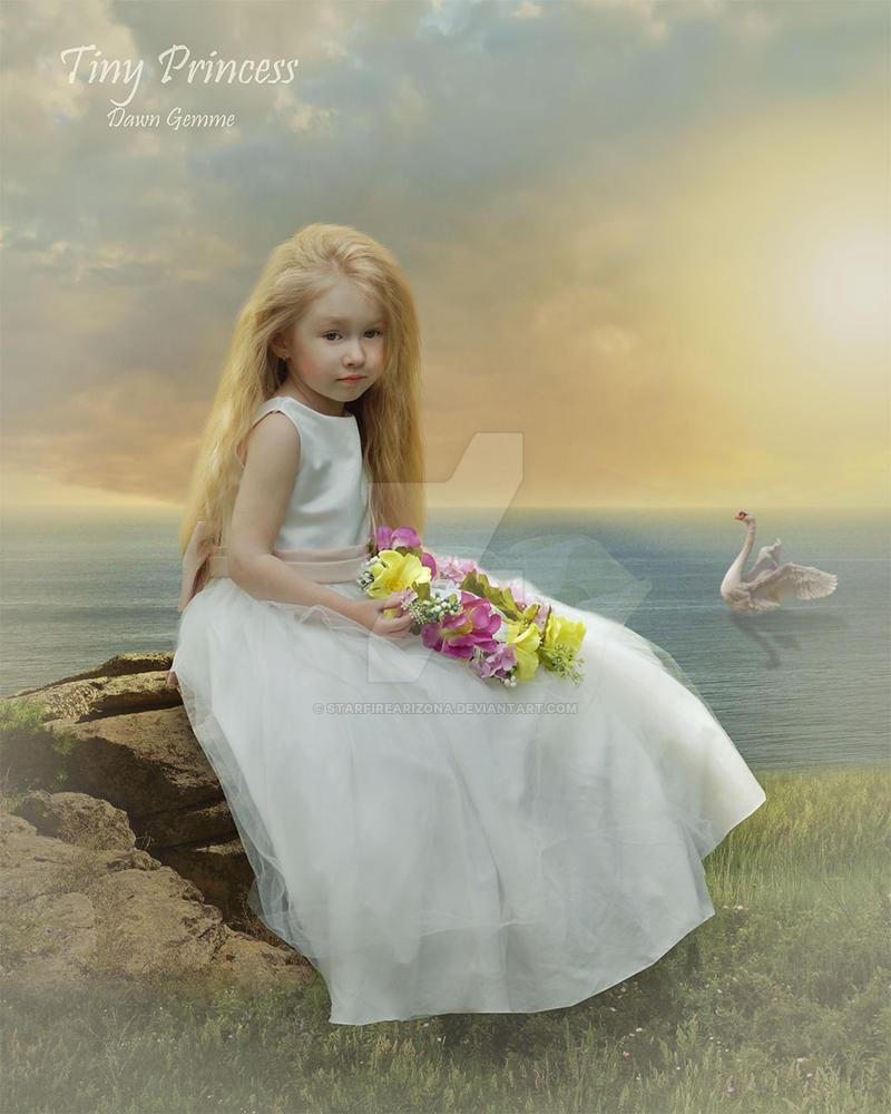 Tiny Princess by StarfireArizona