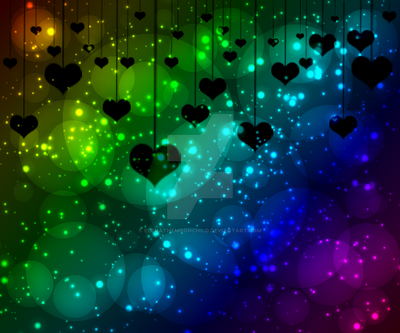 Darkish rainbow wallpaper by ElenaTheMoonChild on DeviantArt