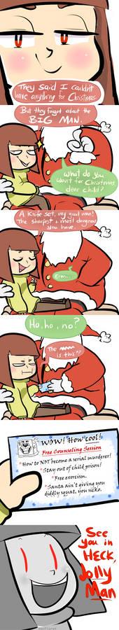 happy holidays! [UT Spoilers]