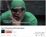 Top 10 Characters With Super Speed