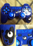 commission: hand painted luna controller