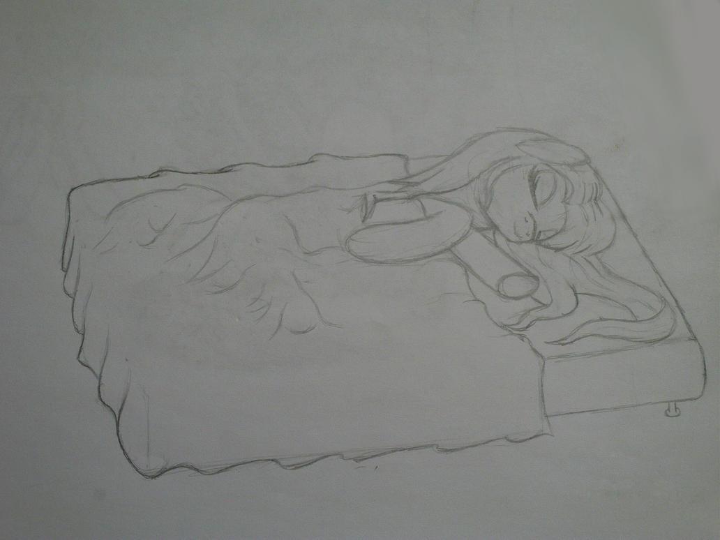 sleepy time fluttershy by midnightfox1