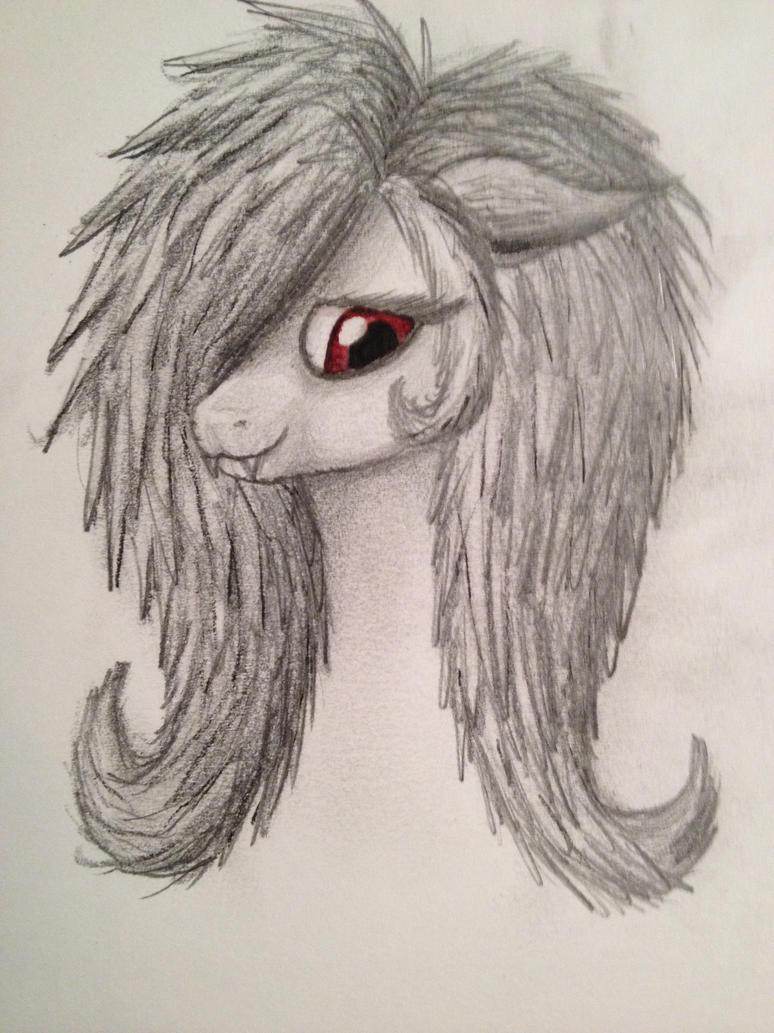 flutterbat sketch by midnightfox1