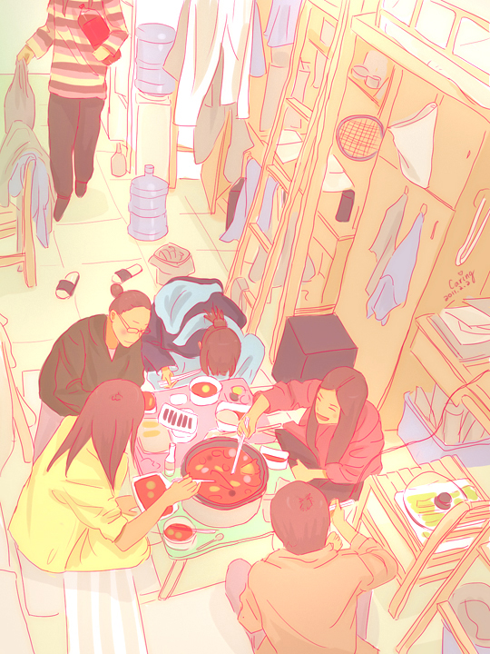 The Girls' Dorm by CaringWong