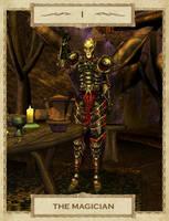 MW Tarot: 1. The Magician by Alvirdimus