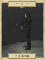 MW Tarot: 9. The Hermit by Alvirdimus