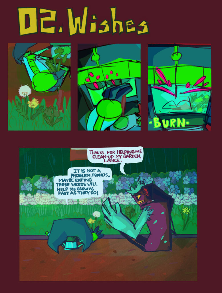 02. Wishes page 1 by yoreeba